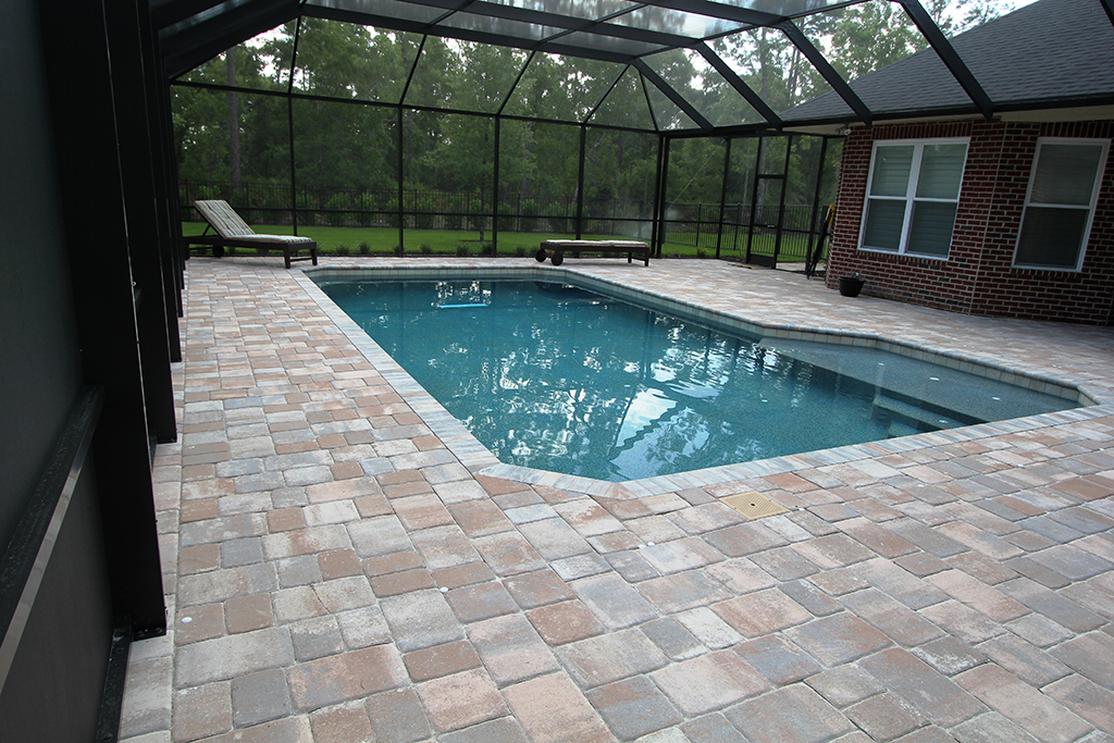 Swimming pools custom pool jacksonville fl gallery for Pool design jacksonville fl